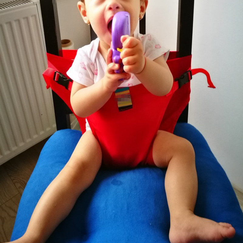2019 Direct Selling Hot Sale Baby Chair Portable Infant Seat Product Dining Lunch Chair/seat Safety Belt Feeding High Harness