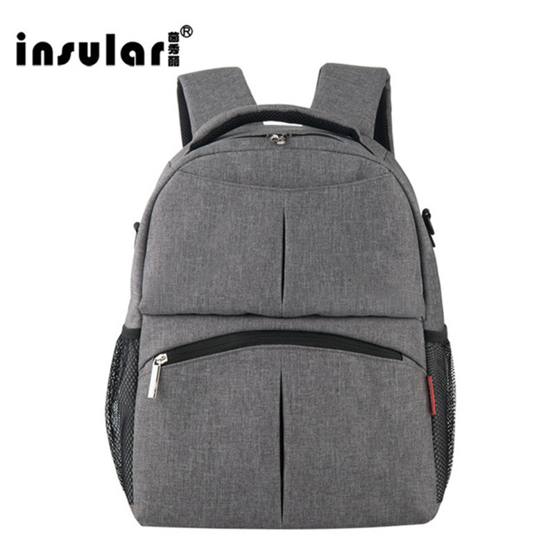 2017 NEW INSULAR Mother Bag Baby Nappy Bags Large Capacity Maternity Mummy Diaper Backpack Stroller Bag 10016 insular fashion baby bag multifunction mummy bag for stroller large capacity baby diaper bags nappy bags baby diaper backpack