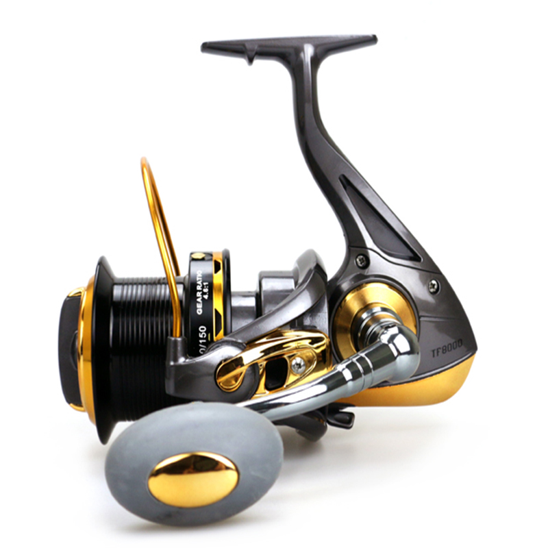 Sea Fishing Reel 12BB 1RB Surfcasting Fishing Reel Long Distant Wheel for Saltwater 8000 9000 series