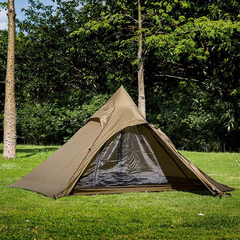 onetigris ao ar livre barraca dupla ultraleve para aventureiros caminhadas barraca de acampamento 2 pessoas leve