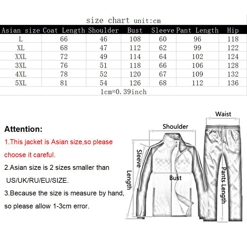 Image 5 - New Mens Set Spring Autumn Man Sportswear Sporting Suit Casual 