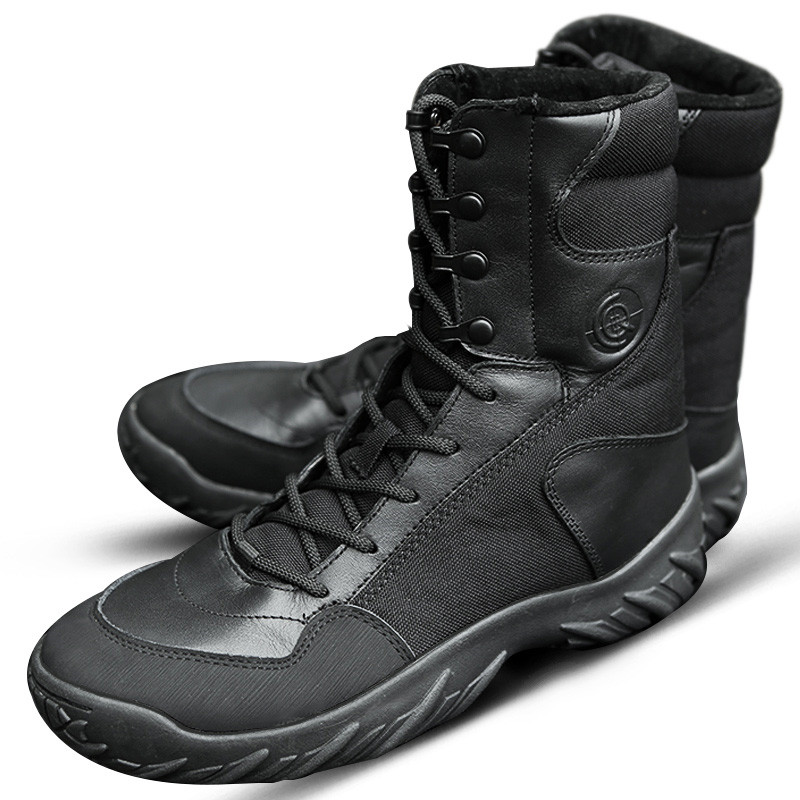Outdoor Camping Hiking Boots Winter Trekking Tactical Boots Male Shoes Men's Desert Combat Boots Shoes leather Army 511 Boots brand fishing waders security staff special forces shoes ski bodyguard women trekking tactical desert climb combat land boots