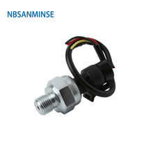 NBSANMINSE SM1100C G1/4 Pressure transmitter Stainless steel  Air compressor Automobile air conditioner variable frequency pump