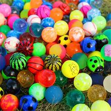 10/20 pces crianças brinquedo misturado saltando bolas de borracha ao ar livre brinquedos de banho criança esportes jogos elástico malabarismo saltando bolas