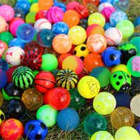 10/20 pcs Children Toy Mixed Bouncing Balls Rubber Outdoor Bath Toys Child Sports Games Elastic Juggling Jumping Balls