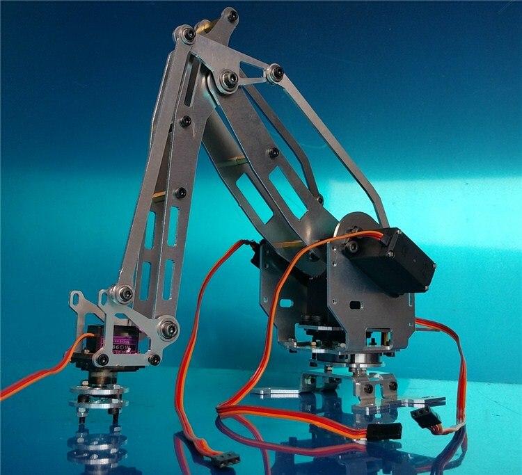Industrial Robot 528 Mekanisk Arm 100% Alloy Manipulator 6-Akse - Fjernstyret legetøj - Foto 3