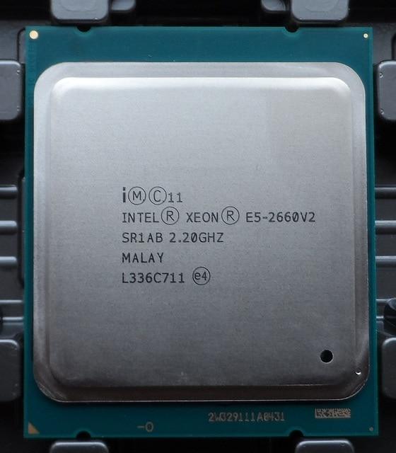Intel Xeon E5 2660 V2 SR1AB Процессор процессор 10 Core 2,20 GHz 25 м 95 Вт E5-2660 V2