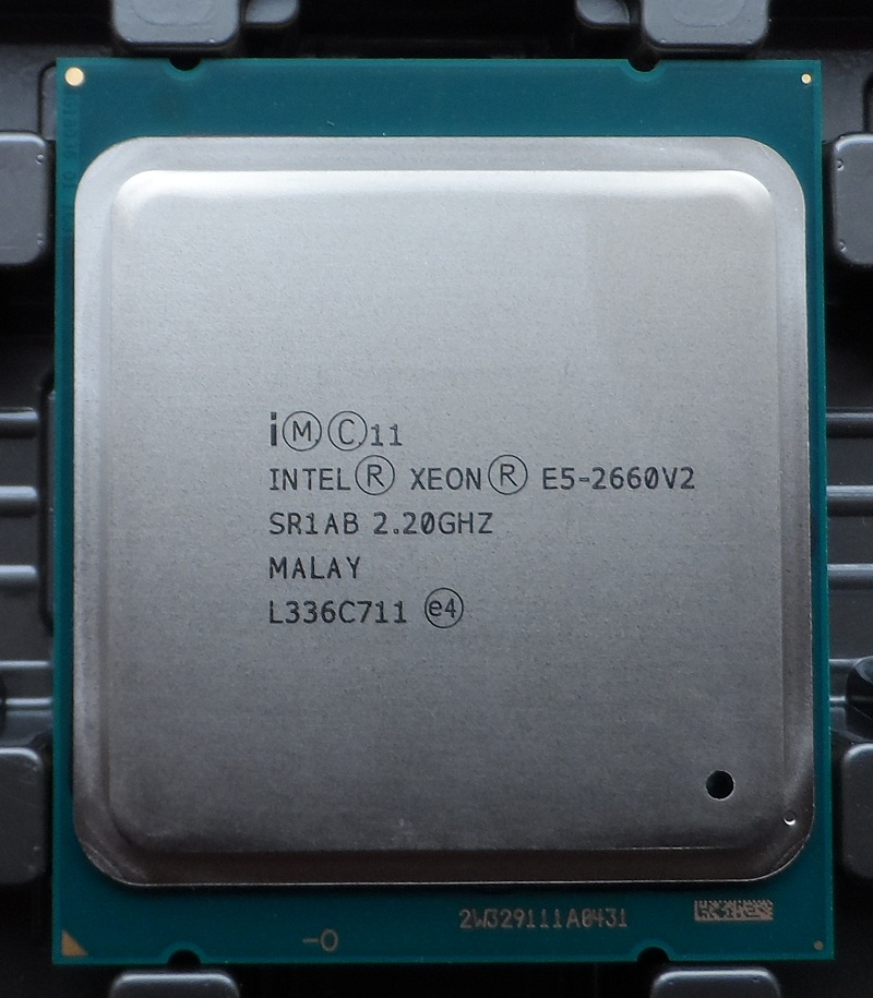 Intel Xeon E5 2660 V2 SR1AB CPU Processor 10 Core 2.20GHz 25M 95W E5-2660 V2