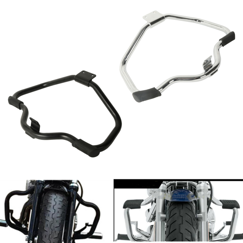 Motorcycle Mustache Highway Engine Guard Crash Bar For Harley HD Sportster XL 1200 883 04-18 Iron 883 09-18 48 XL