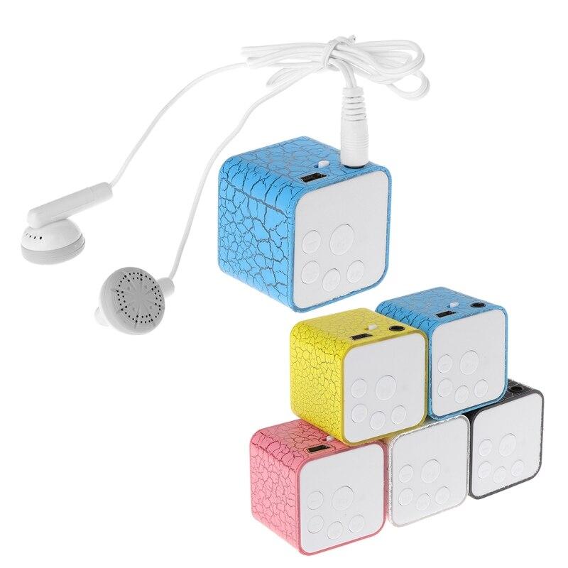 Mini Mp3 Player Mit Micro Tf/sd Card Slot Sport Headset Usb Daten Linie
