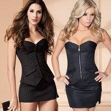 Classic Women Sexy Steampunk Corset Overbust Corsets Set Bustier Waist Cincher Plus Size 6XL corselet bodice