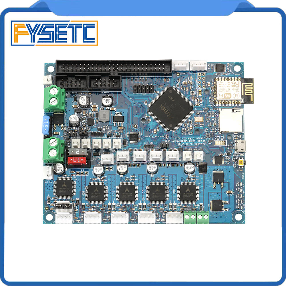 Duet 2 Wifi V1.04 mises à niveau carte contrôleur cloné DuetWifi carte mère 32bit avancée pour BLV MGN Cube 3D imprimante CNC Machine