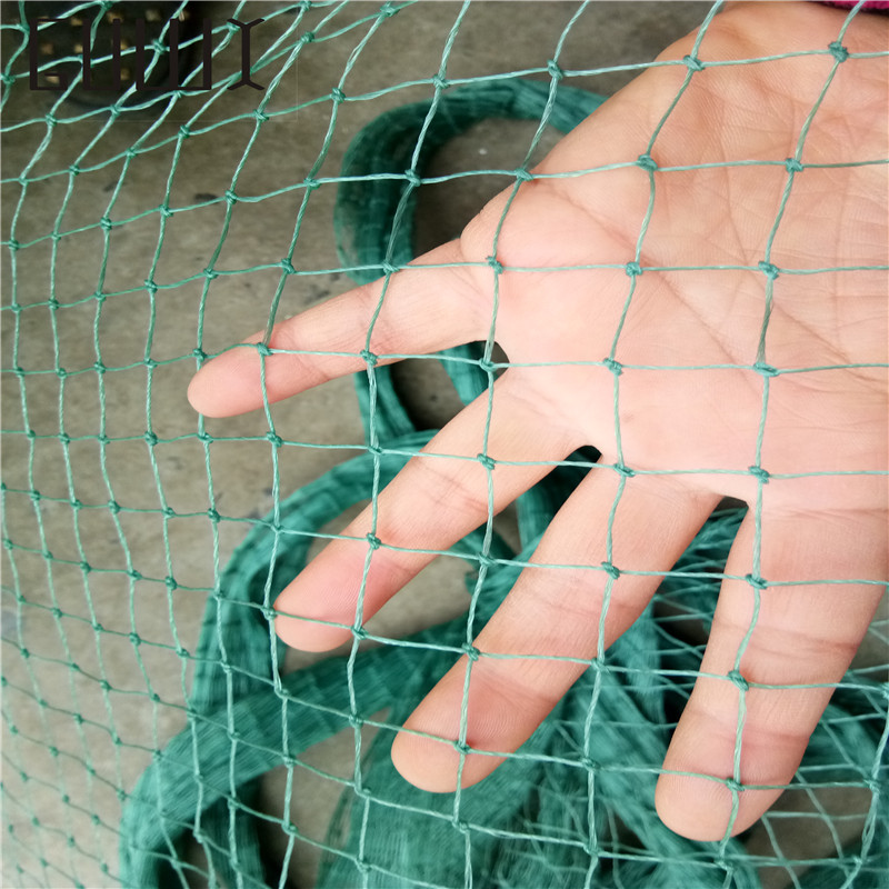 10 m garden fence mesh Green color safety poultry and pets Simple  Breeding net fishing net  Grid is 2 cm * 2 cm