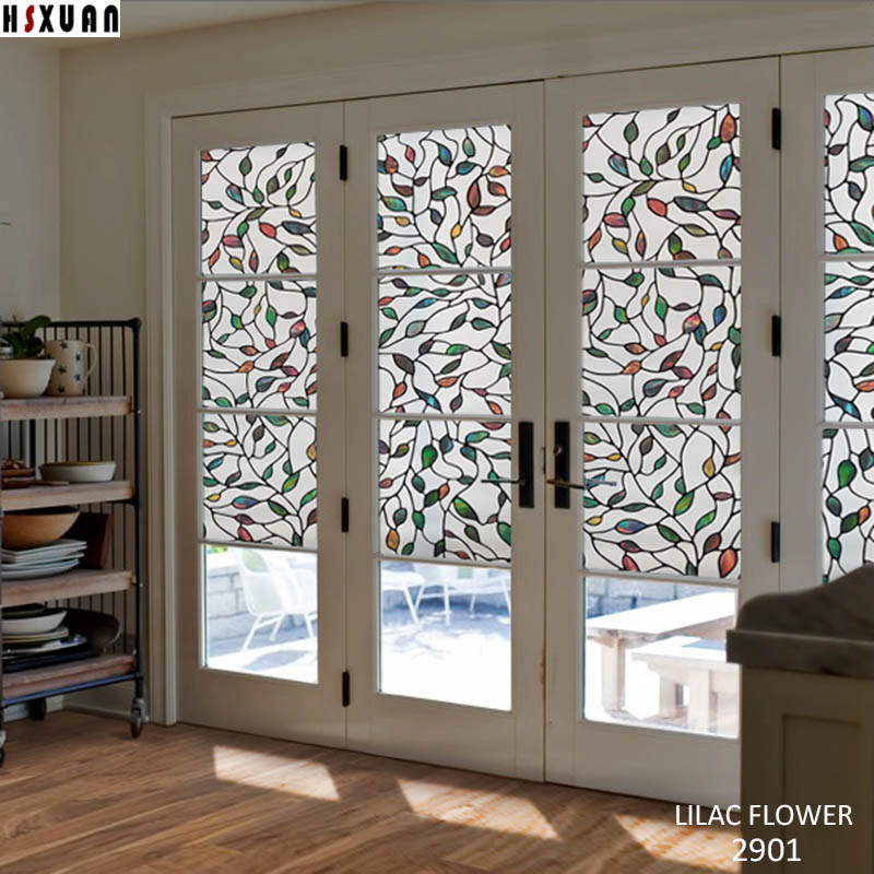 Aliexpress.com : Buy Art Glass Door Window Privacy Film,frosted Furniture  Home Decorative No Glue Static Window Stickers 50x100cm Hsxuan Brand 503201  From ...