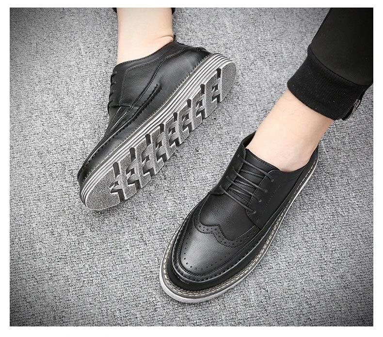 Offre spéciale hommes chaussures respirant bas rouge hommes chaussures décontractées en cuir hommes affaires chaussures chaussures plates hommes Zapatillas Hombre AQ538-558 C1