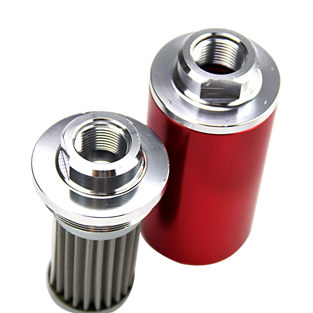 hight resolution of free shipping with 100micron steel element id 58mm fuel filter with each 2pcs an6 an8 an10 adaptor black fittings vr5573 in fuel filters from automobiles