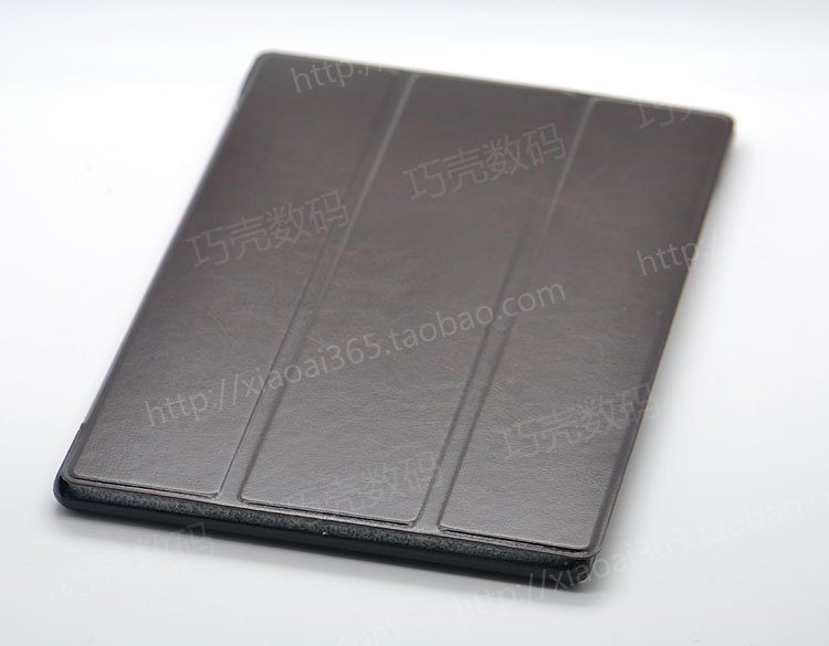 ultra-thin super slim Cover Case,100% Handmade Leather + PC Stand Magnetic Smart Cover For Xperia Z2 tablet Free Shipping
