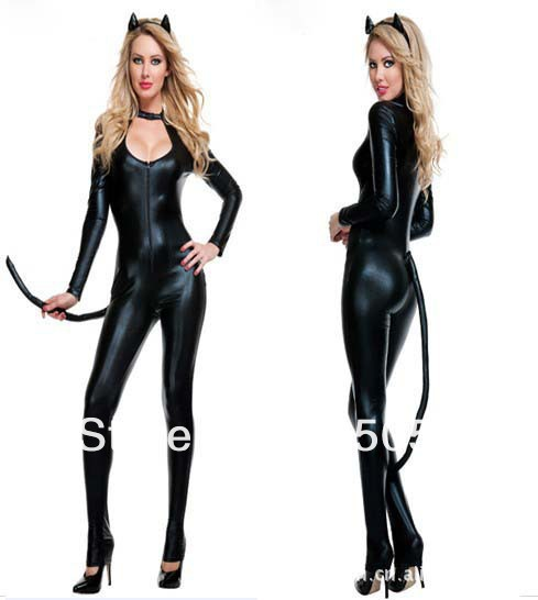 Catwoman Motorcycle Suit