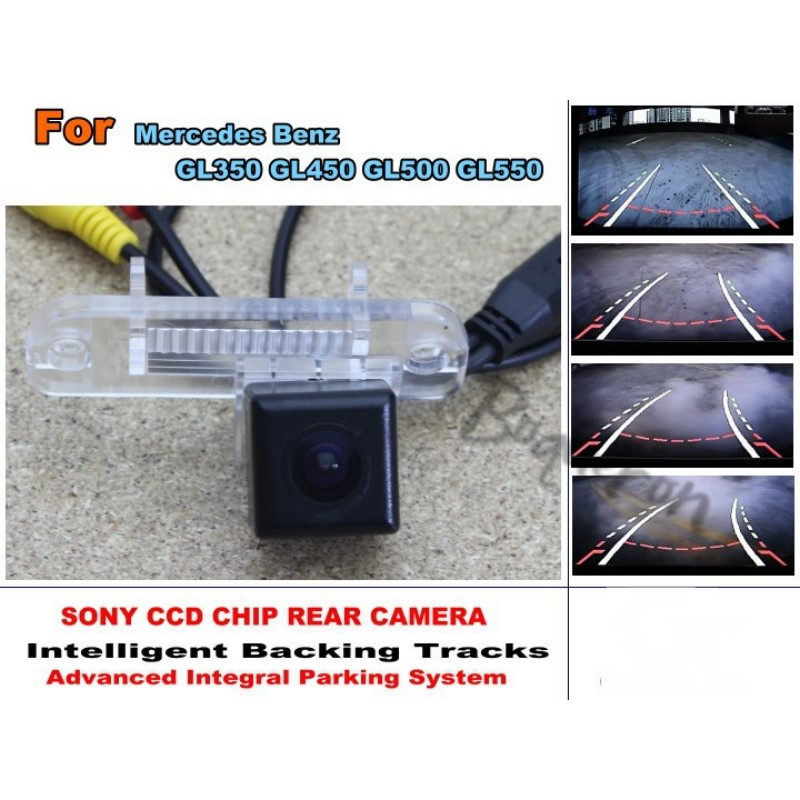 For Mercedes Benz GL350 GL450 GL500 GL550 Intelligent Car Parking Camera with Tracks Module Rear Camera