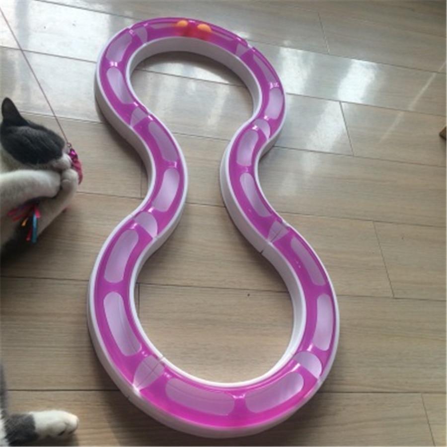 Pet Пластик кота собаки игрушки тоннеля шарик интерактивный Товары gatos продукты для Животные Игры Прочный забавная игрушка кошка милый qqm2233