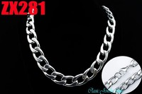 Wholesale 30Inch 316L Stainless Steel Necklace 15mm TK Figaro Chain Fashion Jewelry Man Male Necklace Chains
