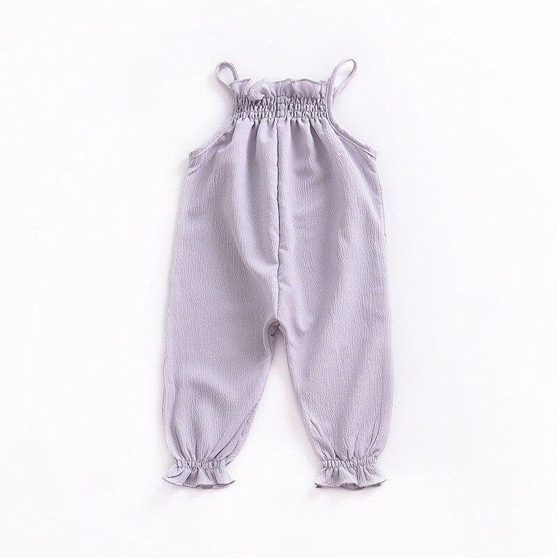 2018 Baby Summer Infant Clothing Bear short sleeved cotton romper boxer newborn wear Cute striped cartoon animals, clothing