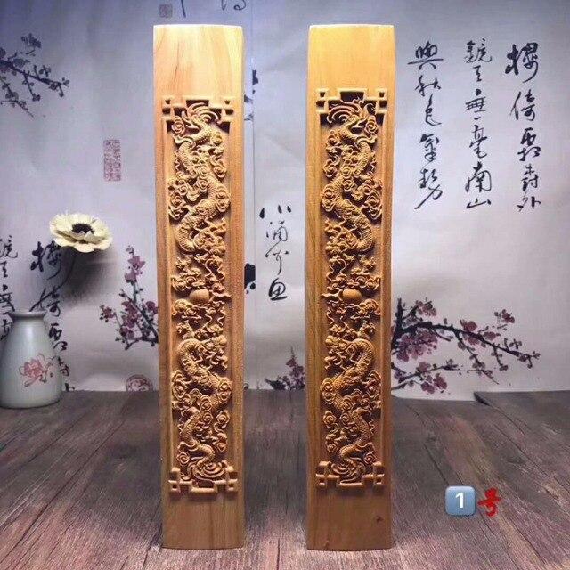 TNUKK De nieuwe Phoenix arborvitae hout meilanzhuju Presse-papier gesneden hoge olie oud materiaal.