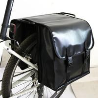 Mountain Bike Rear Bag Waterproof MTB Road Bike Pannier Bicycle Rear Tail Seat Trunk Bag Double Side Cycling Bycicle Rack Bag