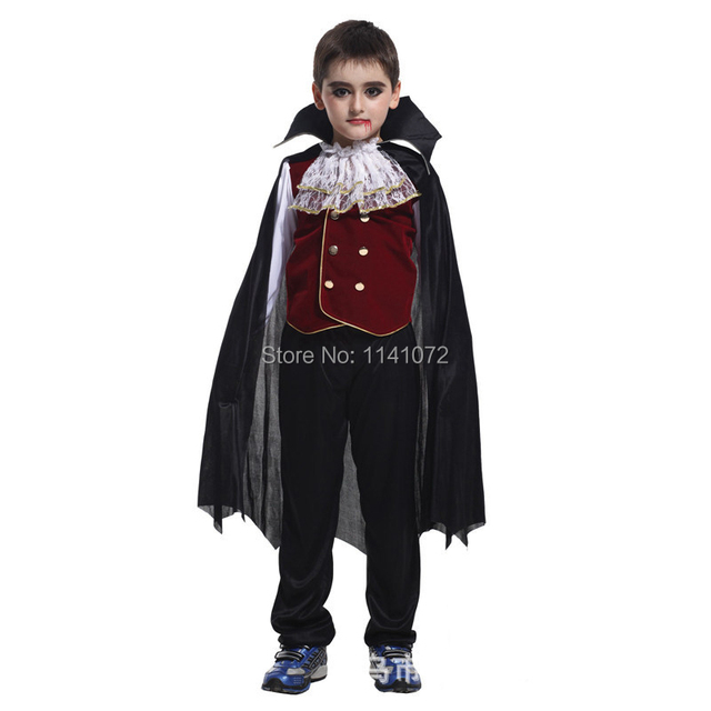2014 christmas party costume of V&ire with cloak fast delivery clothes for kids from china manufacture  sc 1 st  AliExpress.com & 2014 christmas party costume of Vampire with cloak fast delivery ...