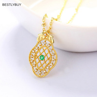 Genuine 925 Sterling Silver CZ Star Women Pendant Necklaces for Women Authentic Silver Jewelry