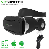 VR BOX 3D VR Glasses Virtual Reality Goggles Glasses Google Cardboard With Headset For 4 5