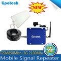 Conjunto COMPLETO GSM 850 Mhz/UMTS 2100 Mhz Teléfono Celular Amplificador de Señal Móvil de Doble Banda CDMA 3G de Señal Booster Celular Repetidor 17dBm