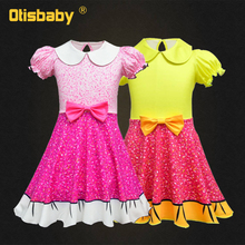 LOL Dress for Girls Kids Floral Christmas Dress Children's Party Costume Cute Infant Girl Clothes 2 3 4 5 6 7 8 9 10 Years Girl 2019 summer girl dress kids children dress cotton striped princess dress baby girls clothes 4 5 6 7 8 9 10 years girl costume