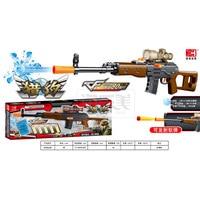 Toy gun Submachine gun Capable Of Firing Bullets soft bullet & water bullet Gun Crystal Paintball Gun Children Boy Toys