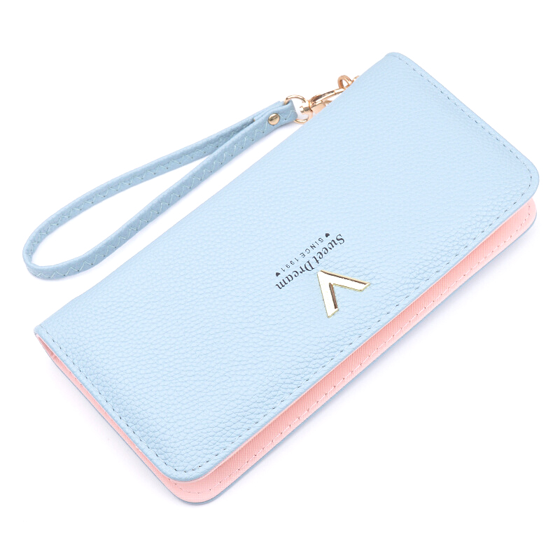 Wallet Female Ladies Purse Women Carteira Coin Holder Card Money Bag Leather Mobile Handy Long Large Wallet Zipper Perse Woman simple organizer wallet women long design thin purse female coin keeper card holder phone pocket money bag bolsas portefeuille