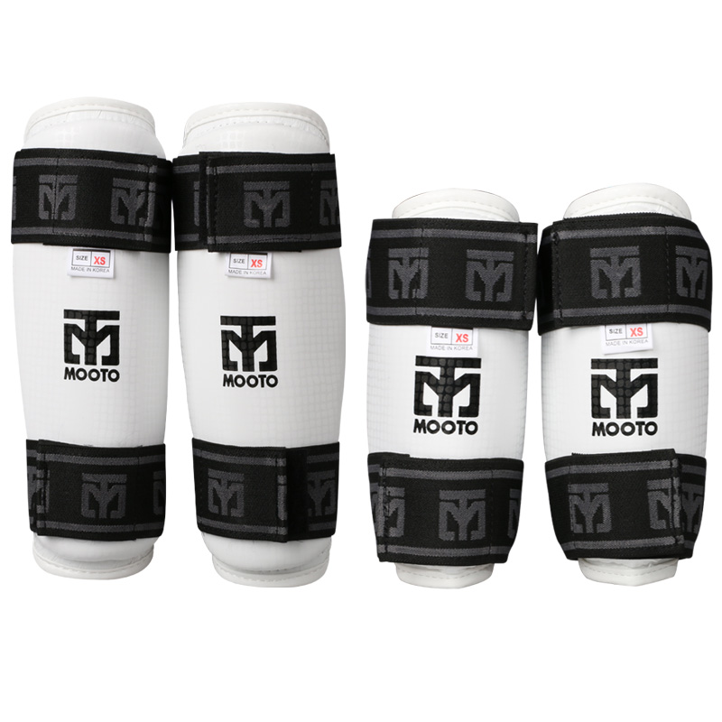 MOOTO Original Taekwondo forearm guard shin Protector WTF Muay Thai TKD knee pads Karate leg guards Boxing arm Elbow protection taekwondo protective gear set wtf hand chest protector foot shin arm groin guard helmet 8pcs children adult taekwondo karate set
