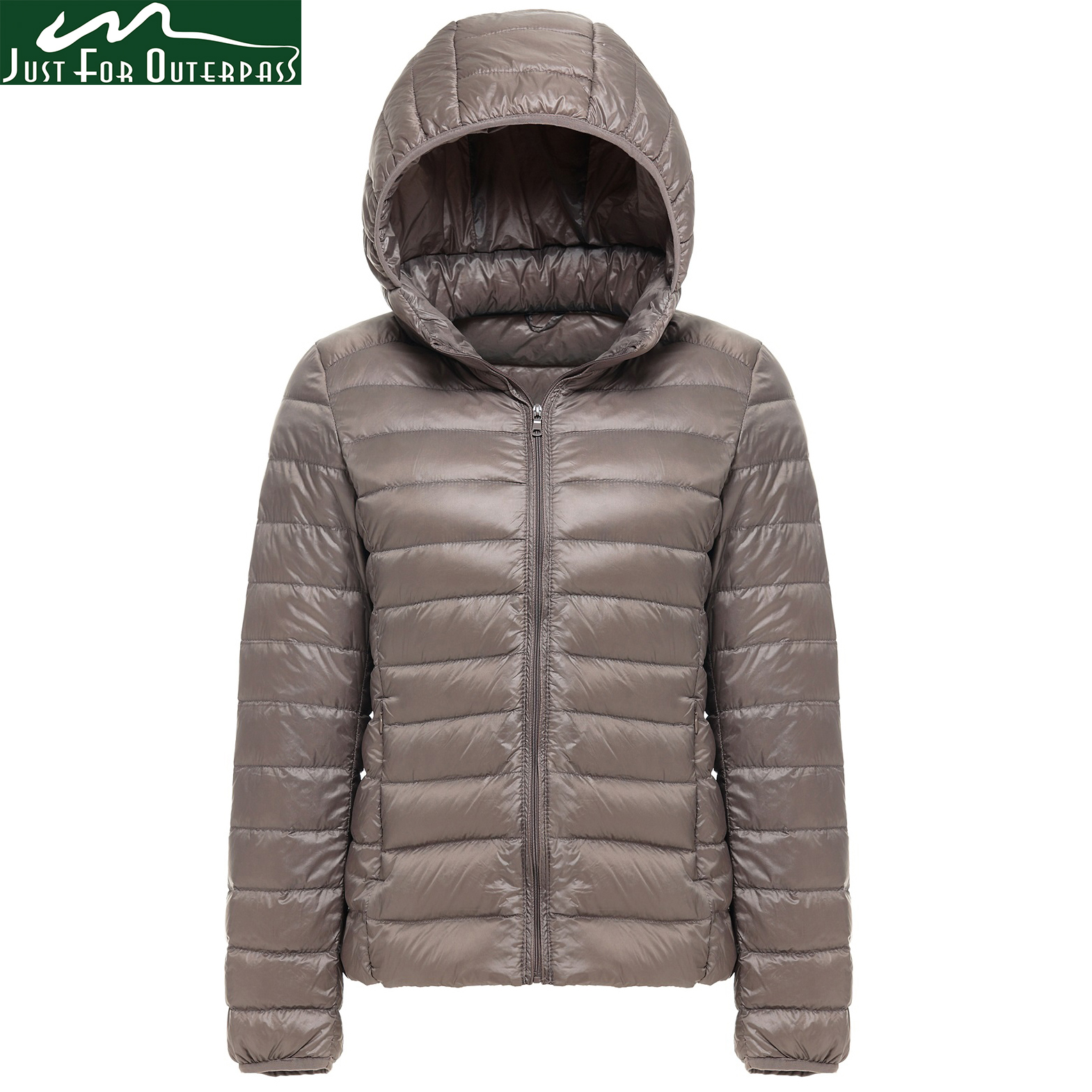 ae6aaa1de62 2019 New Brand 90% White Duck Down Jacket Women Autumn Winter Warm Coat  Lady Ultralight