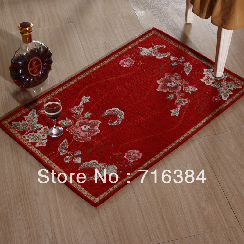 Chinese Style Printed Carpet 50cm 80cm Red Area Rugs For Home Kitchen Mat Carpets Free Shipping In From Garden On Aliexpress Alibaba