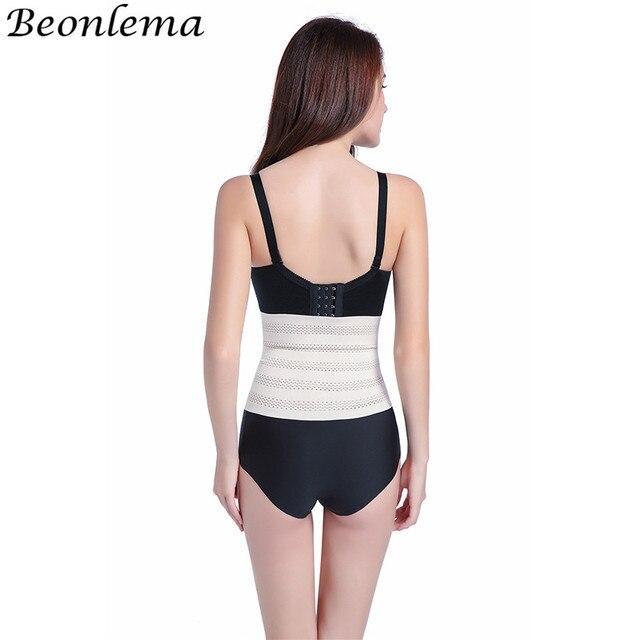 Beonlema Comfort  Shapers Body Slimming Elastic Weat Belt Tummy Corset Waist Trimmer Cincher No Bone faja reductora mujer 3