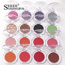 Single Color 28 Colors Professional Eye Shadow Palette Pearl Persistent Make Up Shimmer Waterproof Eyeshadow Eye