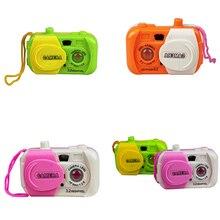 Цвет раном камера игрушка проекция Моделирование дети цифровая камера игрушка сфотографировать детские развивающие пластик подарок для ребенка