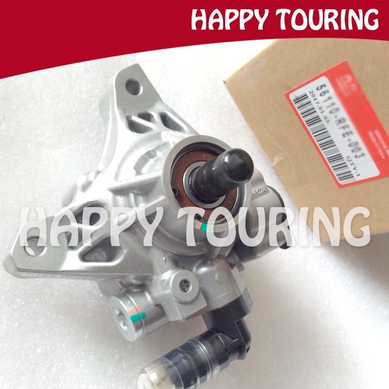 High Quality Power Steering Pump For HONDA ODYSSEY RB1 2005 2006 2007 2008 K24A 2.4L 56110-RFE-003 56110RFE003 Factory salesHigh Quality Power Steering Pump For HONDA ODYSSEY RB1 2005 2006 2007 2008 K24A 2.4L 56110-RFE-003 56110RFE003 Factory sales