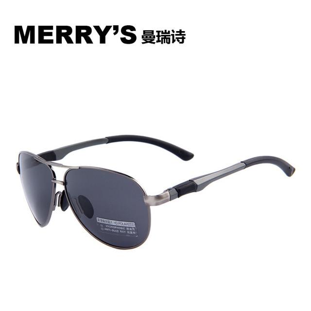 a0f9cee9ca6 MERRY S 2015 New Men Brand Sunglasses HD VISION Polarized Glasses Men Brand  Sport Polarized High quality
