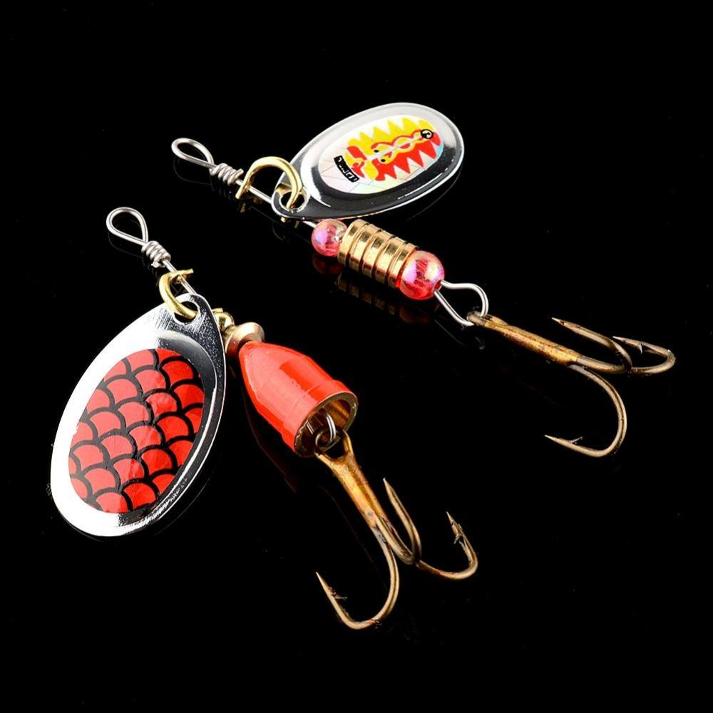 Relefree 30x Assorted Metal Spoon Spinner Spinnerbaits Fishing Lures Bait Crankbait Bass Treble Hooks Tackle Tool Artificial wldslure 1pc 54g minnow sea fishing crankbait bass hard bait tuna lures wobbler trolling lure treble hook