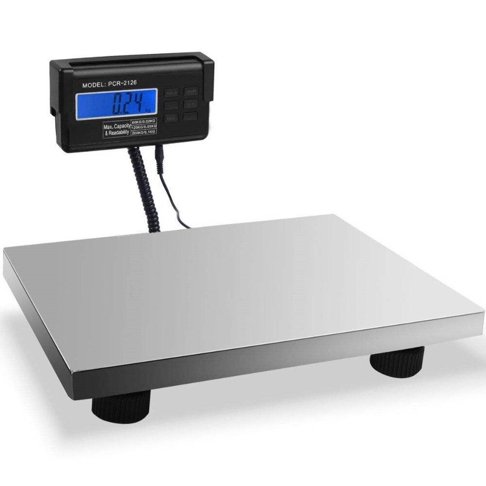 300KG Commercial Digital Scales Platform Scale Electronic for Pet kitchen Postal