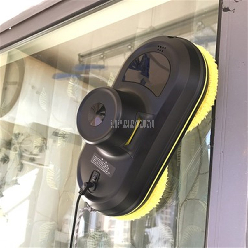 Fully Automatic Household Intelligent Home Window Cleaning Robot Remote Control Rotary Z Shape Wiping Glass Cleaning Machine