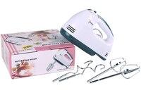 2015 forman el mini Hand held cocina eléctrica ajustable 7 turnos 180 W 220 V europa plug mano mezclador