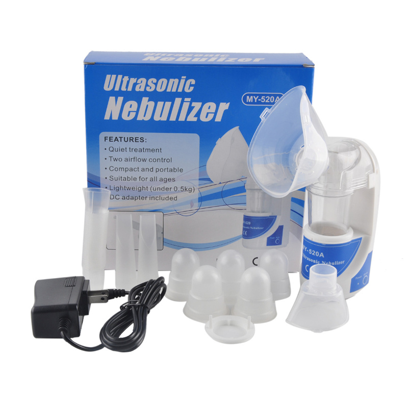 Handheld Portable Mini Asthma Inhaler Nebulizer Household Health Care Children Ultrasonic Nebulizer Inhaler Machine yuwell baby ultrasonic nebulizer adult vporizer portable health household child cough asthma medical equipment humidifier nm211c