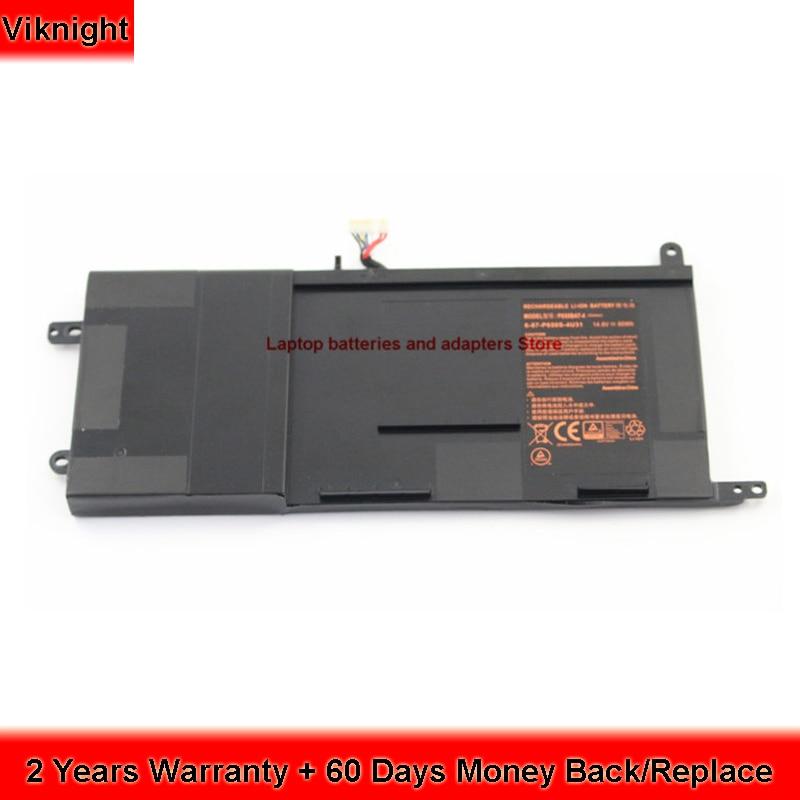 Genuine P650BAT-4 laptop battery For Clevo P650BAT-4 Battery P650SA P650SG P651RE P651SG P671RG Hasee Z7 Schenker Xmg P505 14 8v 2600mah original squ 1201 laptop battery for hasee q480s un43 un45 un47 cqb 924 squ 1202 916t2203h 916t2232h 916q2203h