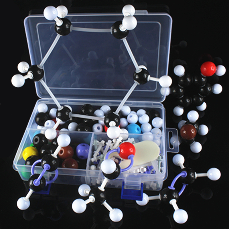 wholesale structure model of Molecular Chemistry Organic molecules Structure Model Chemistry Teaching ZX-1001 free shipping model of molecular structure of organic chemistry tube formula presentation using teacher presentation teaching aids set